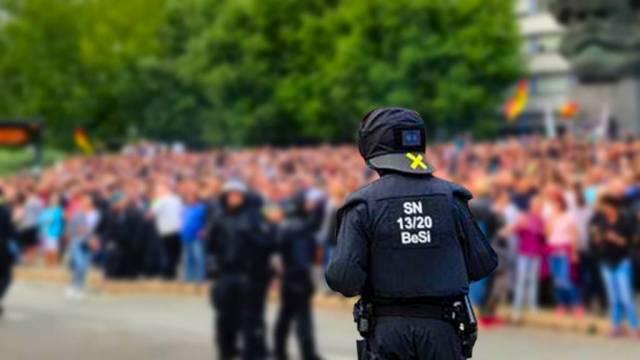 Menschenjagd in Chemnitz