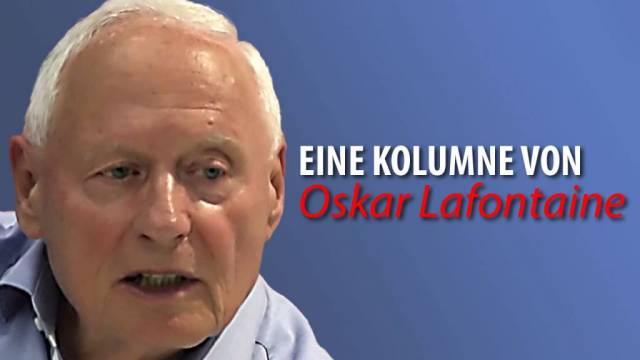 Oskar Lafontaine_Linke Sammlungsbewegung