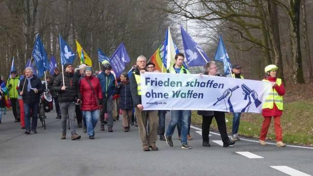 Ostermarsch 2018 in Dülmen