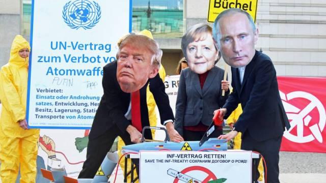 Die USA wollen aus dem INF-Vertrag aussteigen