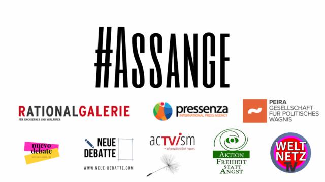 Spendet für Julian Assange