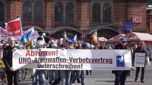 Ostermarsch Bremen 2019