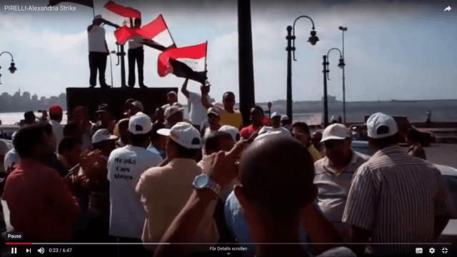 Ägypten: Streik bei Pirelli in Alexandria