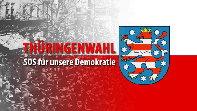 Thüringenwahl 2019 - SOS für unsere Demokratie