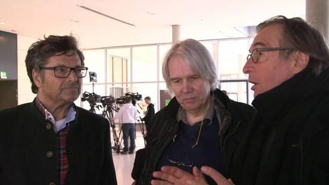 Wolfgang Schorlau, Ekkehard Sieker, Diether Dehm