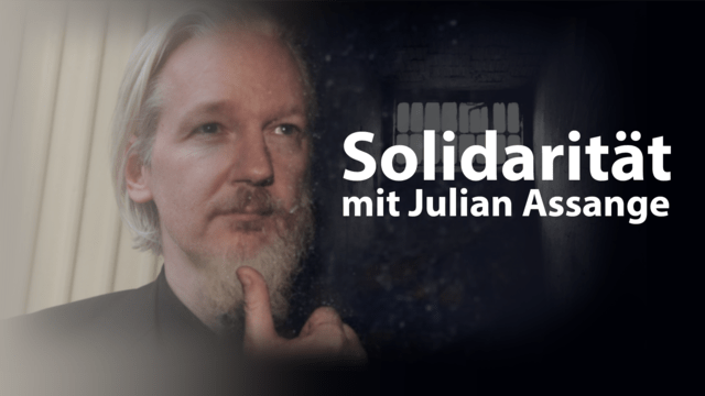 Solidarität mit Julian Assange
