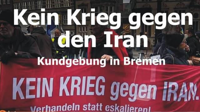 Kein Krieg gegen den Iran!