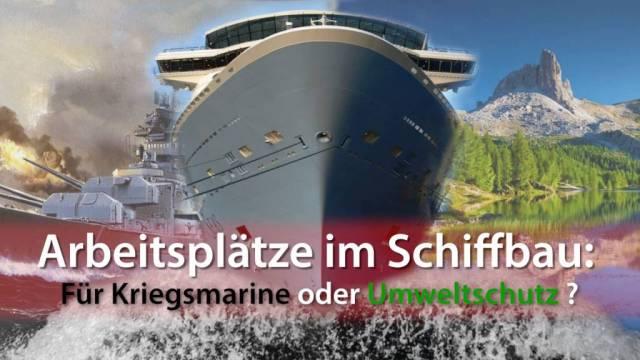 Kriegsmarine oder Umweltschutz