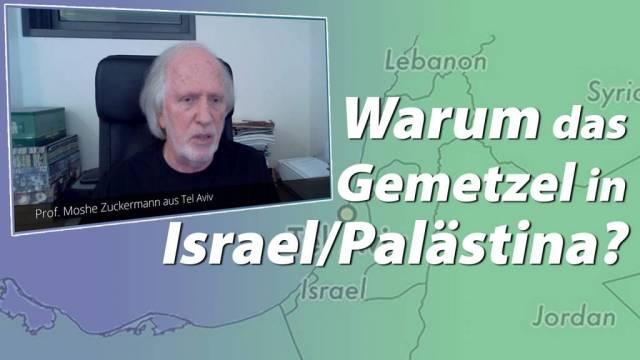Warum das Gemetzel in Israel/Palästina?