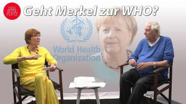 Geht Merkel zur WHO?
