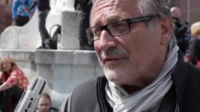 Proteste verboten - Frankfurt lahm gelegt