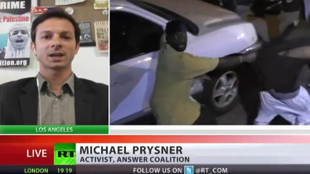 Irak-Kriegsveteran Michael Prysner