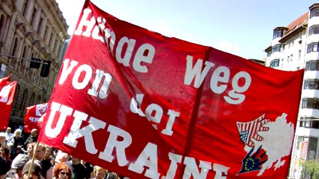 Hände weg von Ukraine