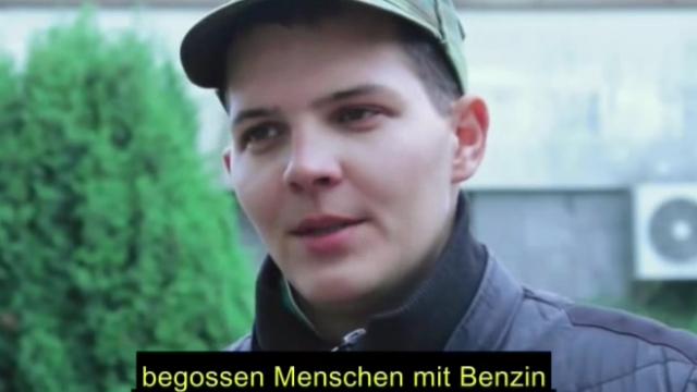 Ukraine: Video zum Pogrom bei Korsun