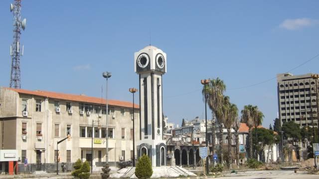 Zentrum Homs, Uhrenplatz