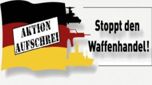 Aktion Aufschrei - Stoppt den Waffenhandel!