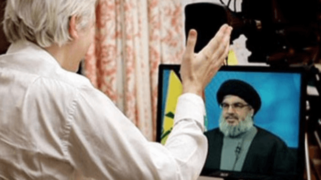 Julian Assange interviewt Hassan Nasrallah