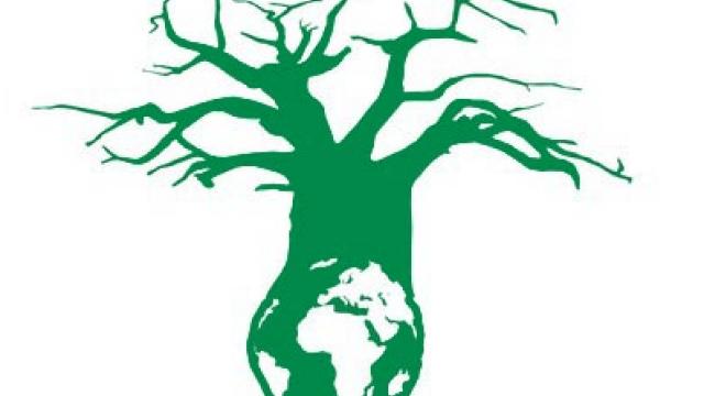 Logo des Klimagipfels im südafrikanischen Durban