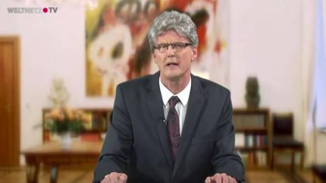 Reiner Kröhnert als Bundespräsident Gauck