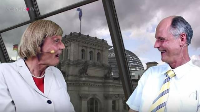 Reiner Kröhnert, Angela Merkel, Gerhard Schröder, Sigmar Gabriel