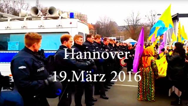 Newroz Hannover 2016 Zusammenschnitt