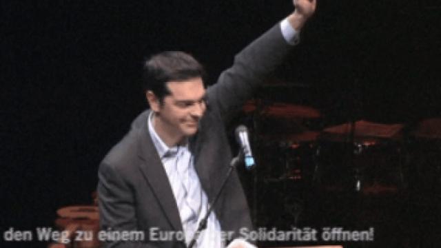 GegenBANKENmacht-Veranstaltung in Berlin