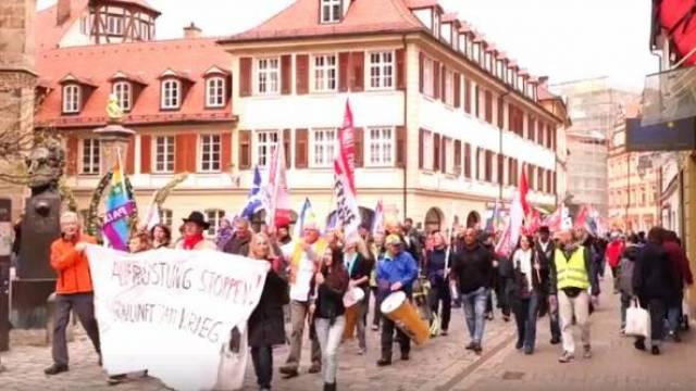 Ostermarsch 2017 in Ansbach