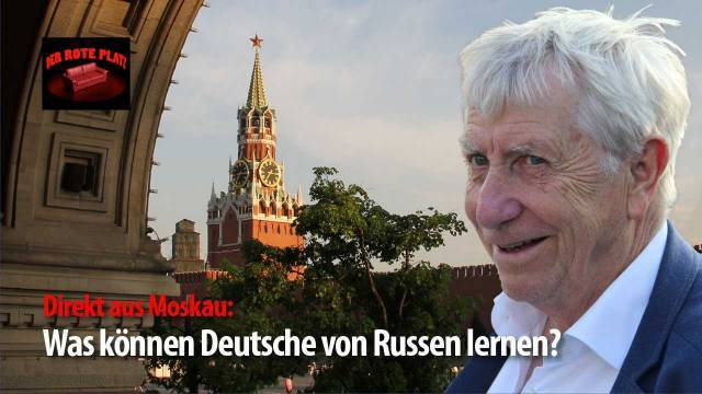 Der Rote Platz #15 mit Wolfgang Gehrcke