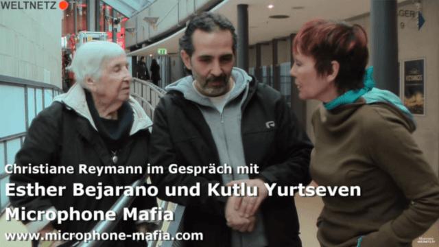 Christiane Reymann im Gespräch mit Esther Bejarano und Kutlu Yurtseven