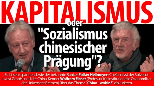 Folker Hellmeyer und Wolfram Elsner
