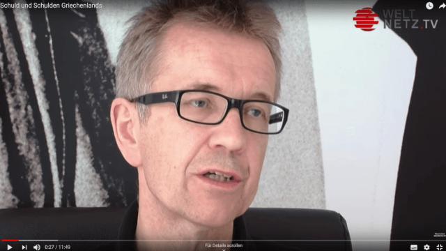 EU-Experte Andreas Wehr