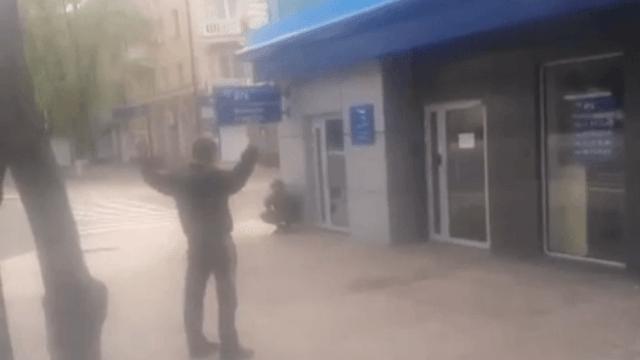 Ukrainische Nationalgarde kämpft gegen das eigene Volk