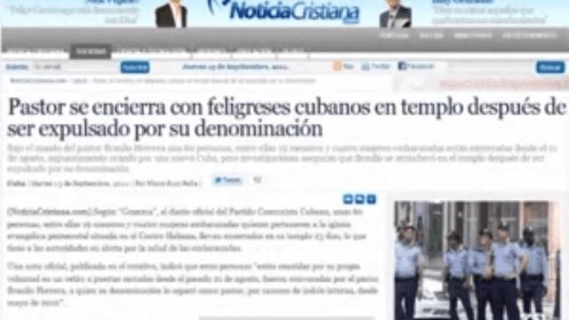 Lügen von Yoani Sánchez über Kirchenbesetzung
