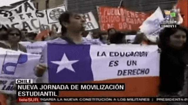 Proteste in Chile flammen wieder auf