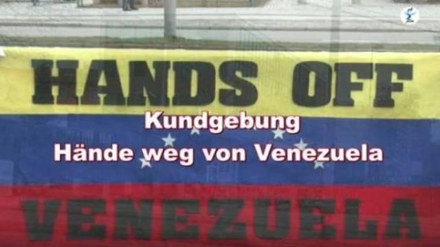 Hände weg von Venezuela!