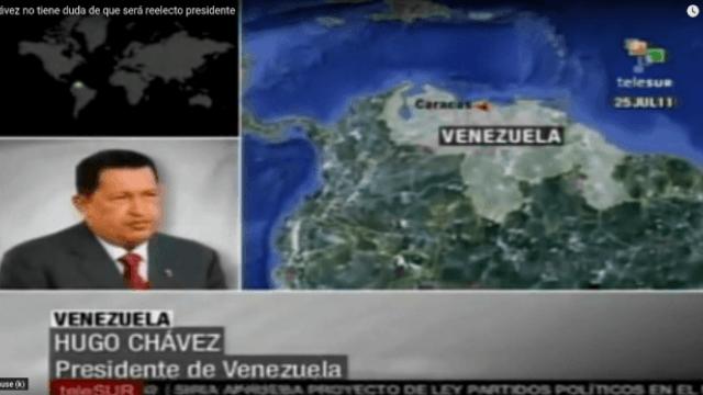 Hugo Chávez im Interview mit Telesur