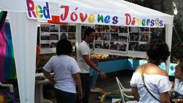 Informationsstand von Aktivisten in Havanna  (Quelle: Cenesex)
