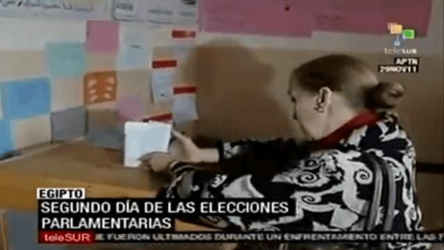 Viele Frauen wählen in Ägypten