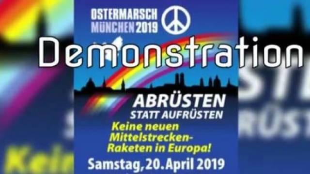 Ostermarsch München 2019