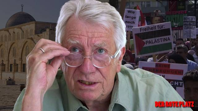 Der Rote Platz #48 mit Wolfgang Gehrcke: Es gibt reichlich Anlass zu gesellschaftlichen Diskussionen über Antisemitismus – der Antisemitismus-Vorwurf wird aber auch politisch instrumentalisiert
