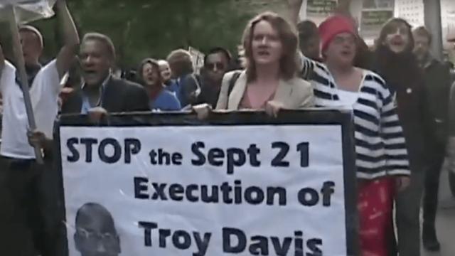 Proteste vor Hinrichtung von Troy Davis in den USA