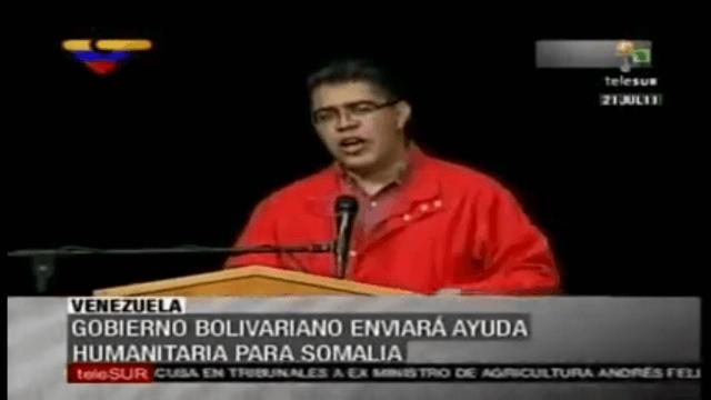 Venezuelas Vizepräsident Elías Jaua