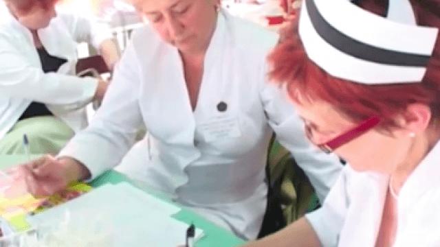 Dokumentation über den Arbeitskampf polnischer Krankenschwestern 2007