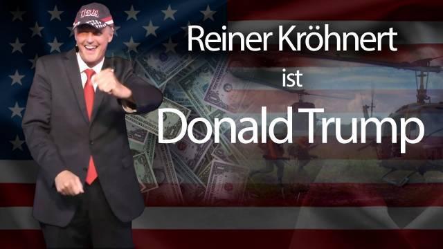 Reiner Kröhnert ist Donald Trump