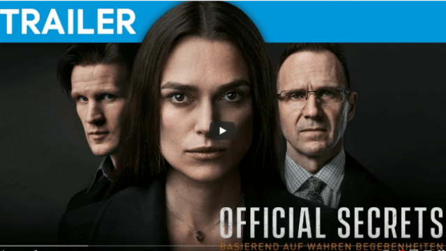 OFFICIAL SECRETS - Trailer