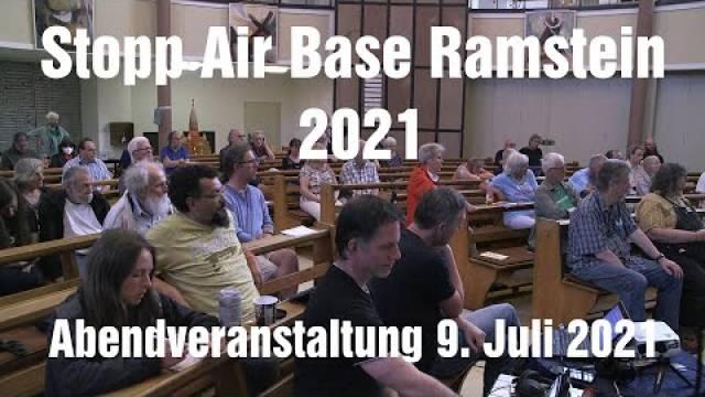 Stopp Air Base Ramstein 2021 - Abendveranstaltung