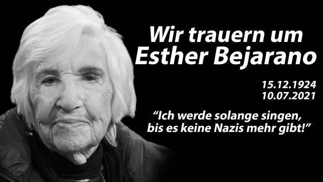 Wir gedenken Esther Bejarano