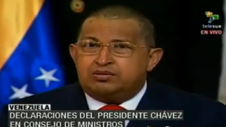 Hugo Chávez verliest Brief Gaddafis