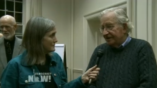 Amy Goodman, Noam Chomsky, Quelle: Democracy now!