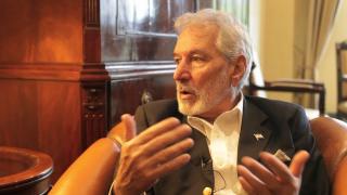 Samuel Santos, Außenminister Nicaraguas, im Gespräch mit Weltnetz.tv